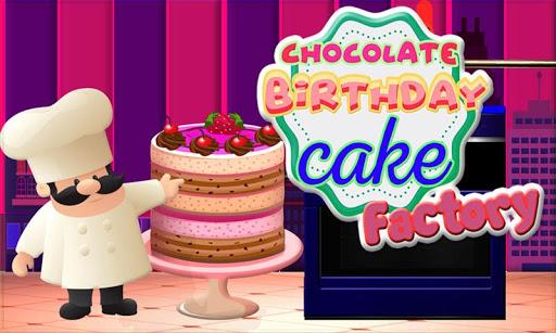 Chocolate Birthday Cake Factory - Dessert Making 1.15 screenshots 4