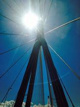 Photo: Bridge over the gulf of Corinth