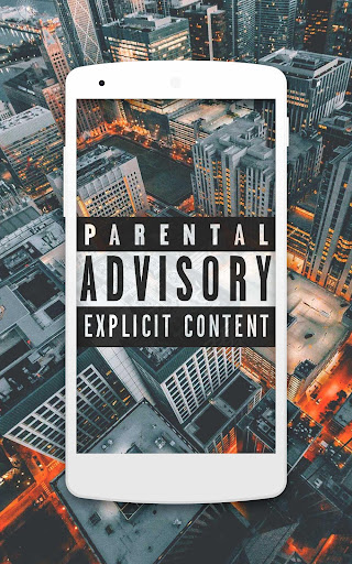 Parental Advisory Wallpapers HD 4K Screenshot 1