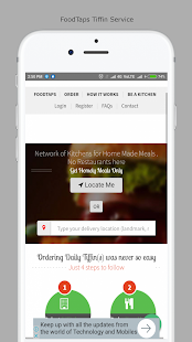 FoodTaps : Healthy Tiffin Service - náhled