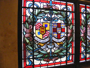 Photo: More of the stained glass found in the hallways.