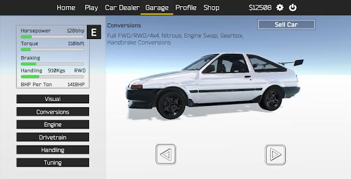 Télécharger Gratuit Tuner Z - Car Tuning and Racing Simulator apk mod screenshots 1