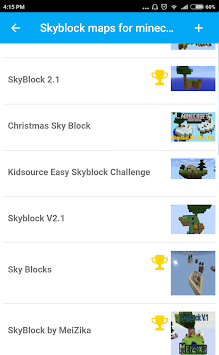 Download Skyblock Maps For Minecraft PE APK Latest Version App For - Minecraft maps skyblock 1 11 2