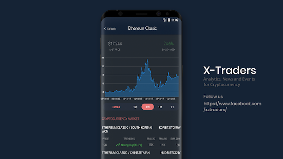 X-Traders: Tracking, News and Events for Crypto (Unreleased)- screenshot thumbnail