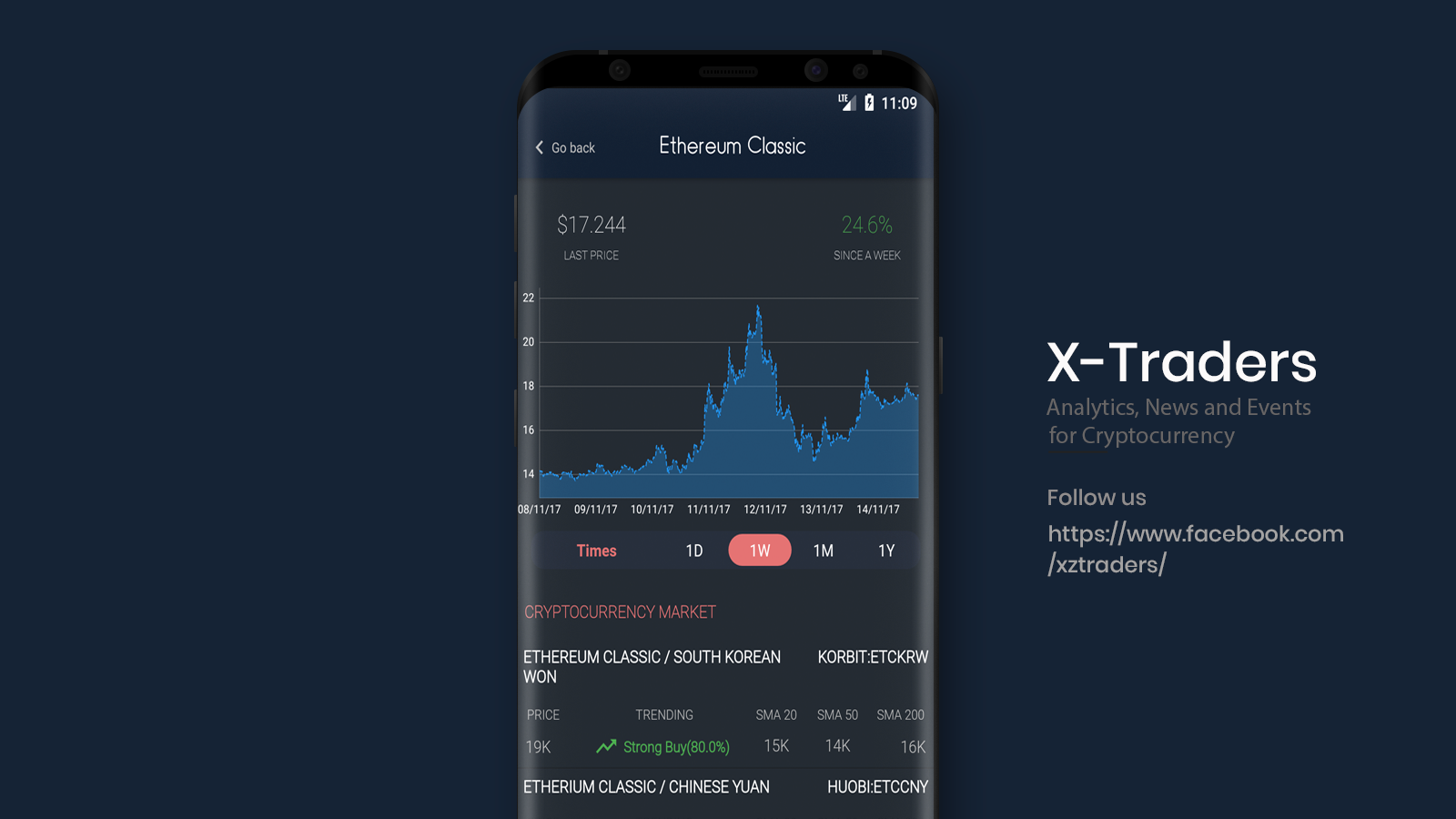 X-Traders: Tracking, News and Events for Crypto (Unreleased)- screenshot