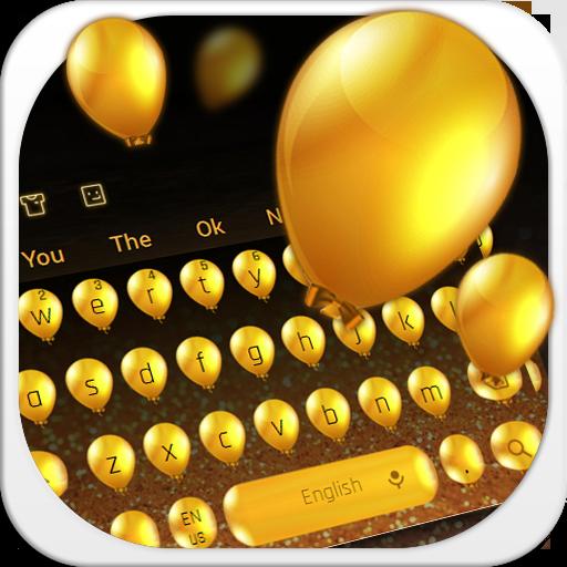 Golden balloon Keyboard