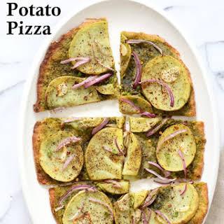 Potato Pesto Pizza.