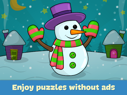 Kids puzzles 3 and 4 years old - screenshot