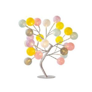 Veioza decorativa tip copac cu LED-uri multicolor