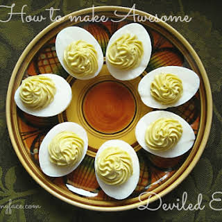 How To Make Awesome Deviled Eggs.