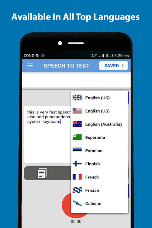 Speech to Text: Speak Notes & Voice Typing App – (Android Apps) — AppAgg