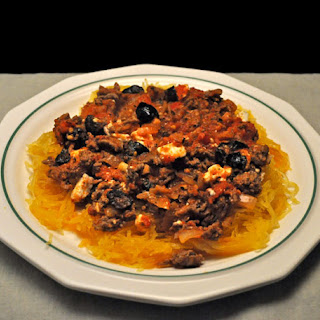 Spaghetti Squash, Mediterranean Style