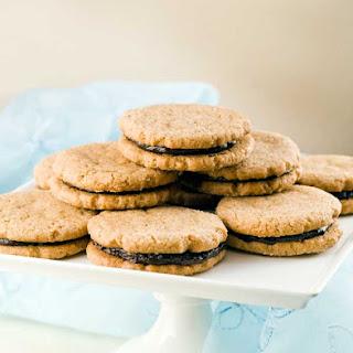 Gluten Free Sunbutter Chocolate Sandwich Cookies Recipe