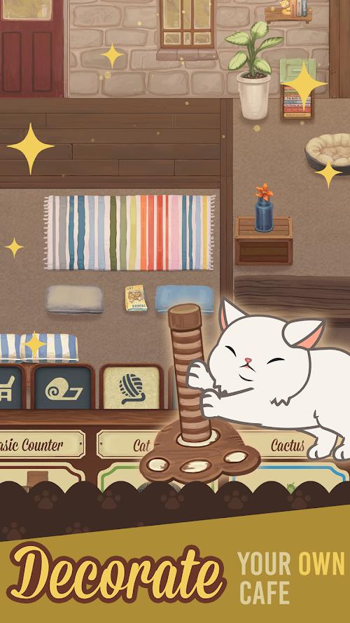 Screenshot 4 Furistas Cat Cafe 1.401 APK hack