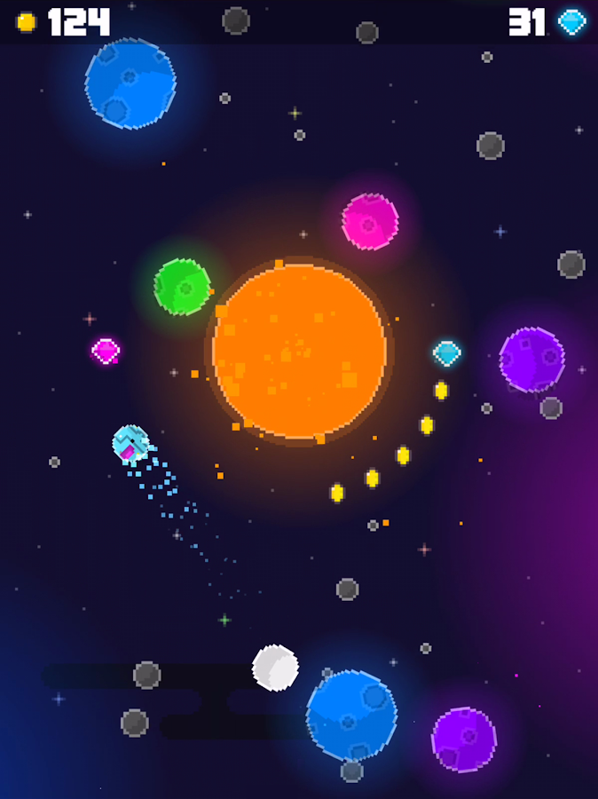 Swoopy Space- screenshot