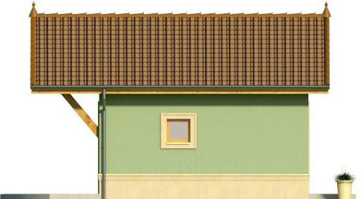 Domek 12 - Elewacja lewa