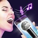 Karaoke voice sing & record icon