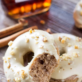 Spiced Maple Doughnuts.