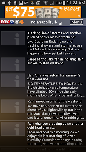 The Indy Weather Authority 5.0.1100 Screenshots 4