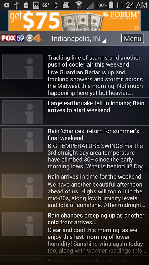 The Indy Weather Authority- screenshot