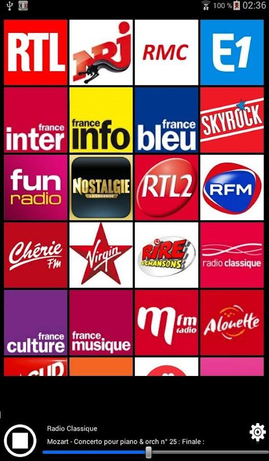 Resultado de imagen de RADIOS FRANÇAISES ON LINE