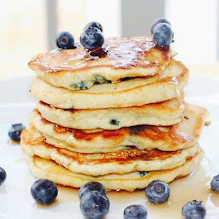 It's National Blueberry Pancake Day!