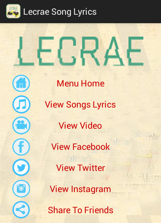 Lecrae Song Lyrics