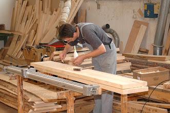 Photo: Obdelava lesa - Holzarbeiten - Woodworking