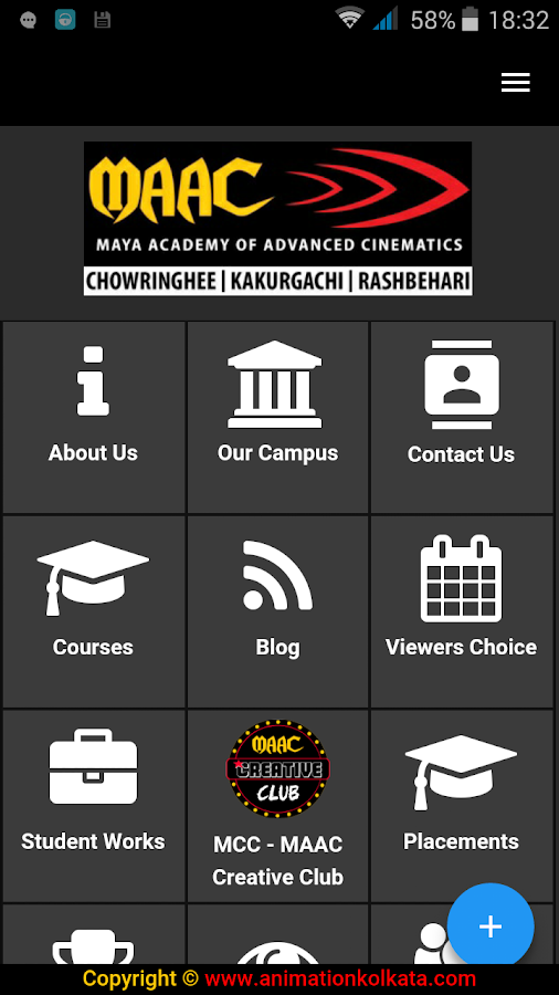 MAAC KOLKATA- screenshot