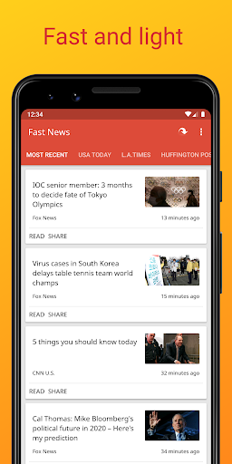 Fast News 3.5.5 Screenshots 7