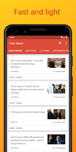 Fast News Screenshot