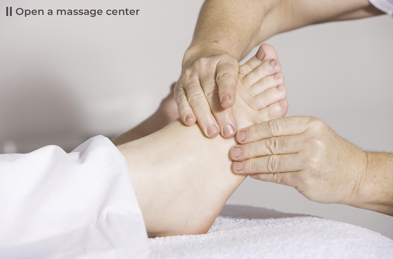open a massage center