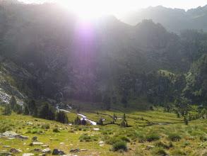 Photo: Il verde plateau di Estany Inferior de Guerosso, 2280m.