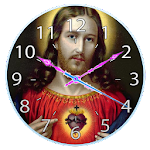 Lord Jesus Clock Live Wallpaper 1.3