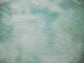 Photo: green pastel brush