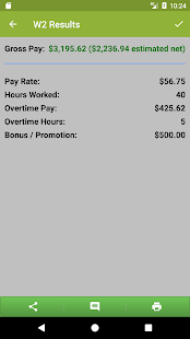 Paycheck Estimate- screenshot thumbnail