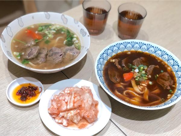 平價好吃的牛肉麵/文青可愛風口味特別/隱市牛麵