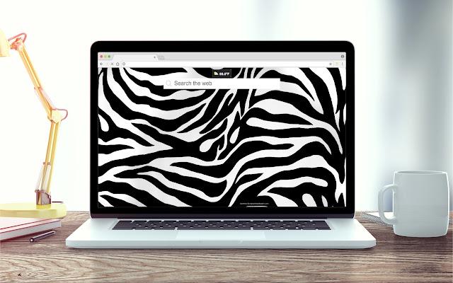 Zebra Print Wallpapers New Tab Theme