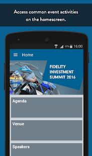 Fidelity Events - náhled