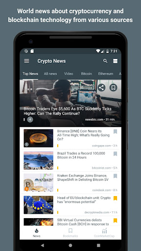 Crypto News 2.1.2 screenshots 1