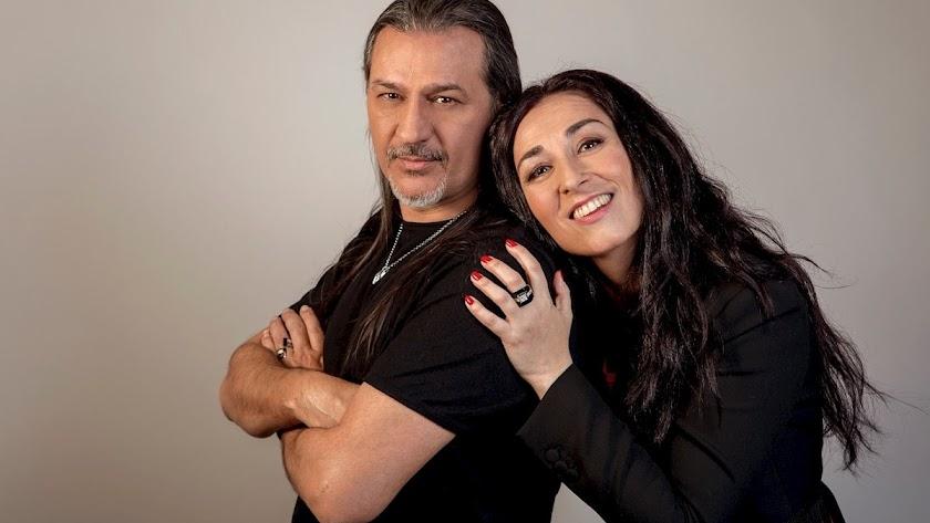 Ángeles y Dioni, integrantes de Camela.