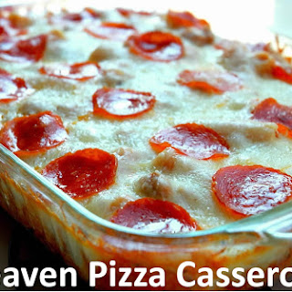 Heaven Pizza Casserole