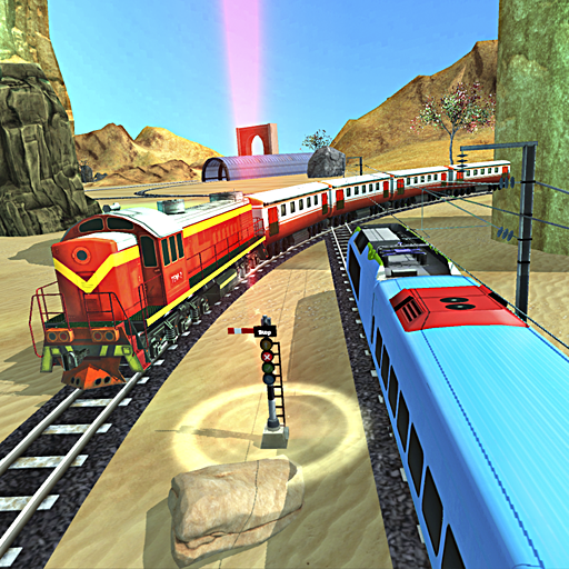 Train Racing 3D 2019 Icon