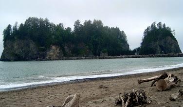 Photo: At the beach at La Push, Washington.