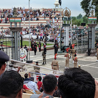 India-Pakistan Border Ceremony