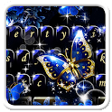 Shining Butterfly Keyboard Theme icon
