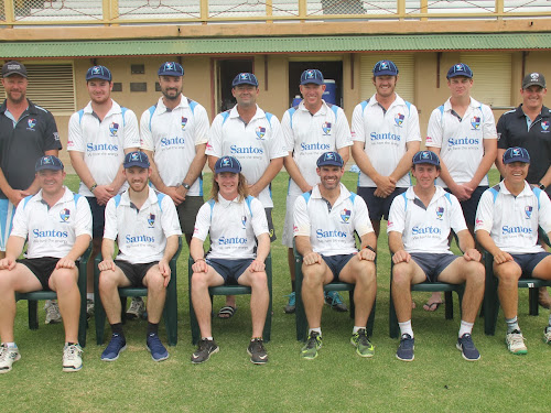 The Narrabri District Cricket Association side that will take on Inverell on Sunday in a rare home War Veterans Cup grand final - back, Gareth Lamond (coach), Nathan Trindall, Alistair Hillard, Chris Sargent, Shane Murphy, Tom Craig, Jordyn Mowle, Brendon Ward (NDCA president), front, Luke Meppem, Jake Brayshaw, Coby Cornish (vice-captain), Lachlan Cameron (captain), Nick Smart and Ryan O'Neill.