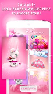 Girly Lock Screen