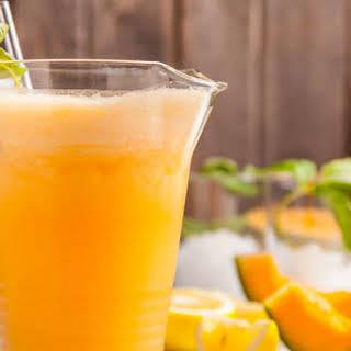 Cantaloupe Smoothie.