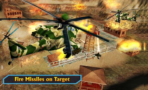 Gunship Helicopter Air War Strike apkdebit screenshots 4
